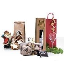 Coffrets et sacs bouteilles de Noël