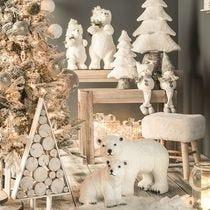 Ambiance Noël Natuur Givrée