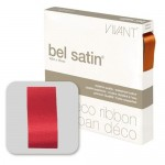 Bolduc Satin 25mm x 100m rouge