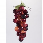 Grappe de raisin bordeaux 10x25cm