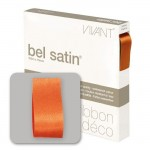 Ruban Satin 10mm x 100m orange