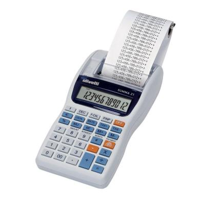 Calculatrice imprimante olivetti 12 chiffres Summa 21-Calculatrices