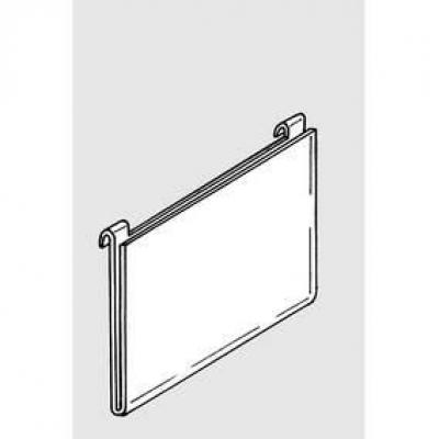 Porte affiche grille A4 horizontal-Supports à poser